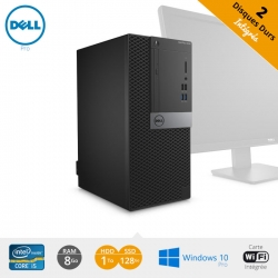 Unité centrale en Core i5 Dell Optiplex 5040 au format mini tour.