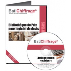BATICHIFFRAGE lot 5 - AMENAGEMENTS EXTERIEURS (version électronique pour Batappli)