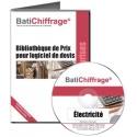 BATICHIFFRAGE lot 4 - ELECTRICITE (version électronique pour Batappli)