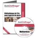 BATICHIFFRAGE lot 6 - MULTISERVICES (version électronique pour Batappli)