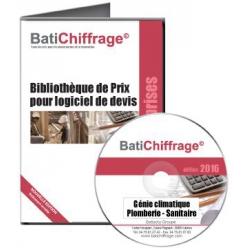 BATICHIFFRAGE lot 3 - GENIE CLIMATIQUE - PLOMBERIE SANITAIRE  (version électronique pour Batappli)