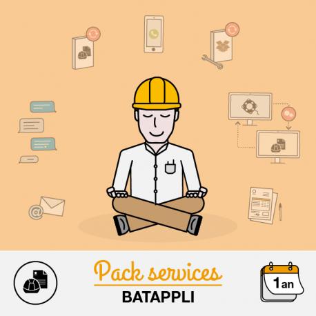 Pack assistance Batappli Artisan et PME 12 mois de support technique de 1 à 3 postes