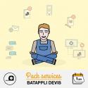 Pack assistance Batappli Devis 12 mois