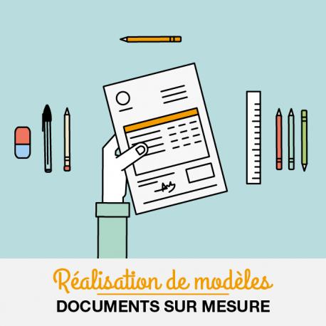 Mises en pages sur mesure des documents (devis, facture, situation,...) et des états d'impressions