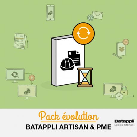 Mise à niveau Batappli Artisan ou PME version antérieure à la 5.41