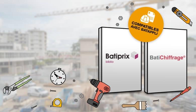 Biliothèque de chiffrages compatibles avec Batappli